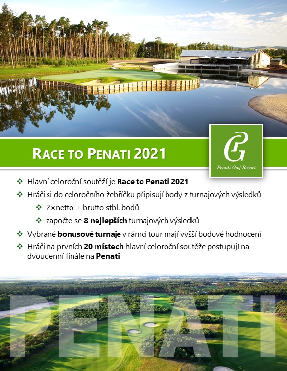 Race to Penati Golf Tour 2021
